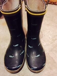 Really Cute Shark Rubber Boots; Size 9 Toddler