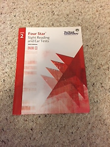 RCM Piano Books, Four Star Level 1, and Level 2, $10/Each, 2015