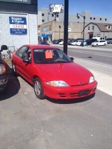 2001 Cavalier selling for parts
