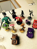 Disney Infinity game and pieces for wii