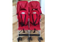 Maclaren rally twin pushchair