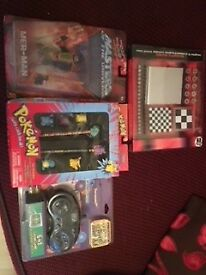 New toys including masters of universe He Man Merman & Pokemon Stationary Set