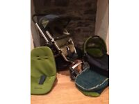 Quinny Buzz Pram and Buggy Set £50