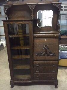 Antique Secretaries Desk  & bookshelf