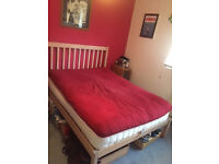 Like new double futon mattress and frame £60