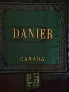 Danier Ladies Leather Jacket Kitchener / Waterloo Kitchener Area image 2