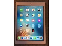 Apple Ipad Air Model A1474 32GB Wifi Silver in Excellent Working & Cosmetic Condition
