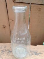 Round embossed milk bottle, Kincardine Dairy, Murray Brothers