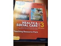 Health and Social Care Level 3 - Teacher's Resource Book