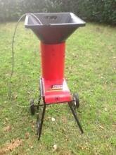 Chipper Chopper Magnum electric garden mulcher Birchgrove Leichhardt Area Preview