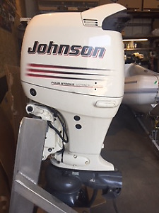 Outboard Jet Johnson 140 4 Stroke Excellent Condition