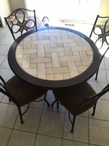 Ashley Round Table and 4 chairs