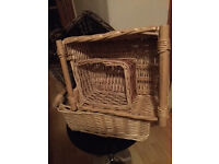 SELECTION OF HAMPERS/BASKETS IDEAL FOR XMAS , BABY SHOWER, HEN HAMPERS ETC