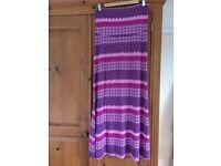 Lovely long maternity skirt from Jojo Maman Bebe, size M