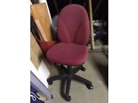 Desk Swivel Chair - little used v good condition. £39.99 NEW