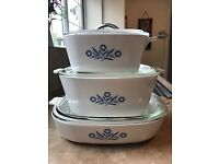 Vintage Pyrosil Casserole Dishes