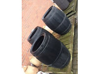 Water butts - all new, some may not have taps or lid hence price