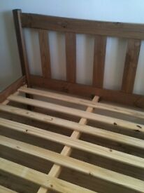 Havana Double Bed Frame with Slats (New)