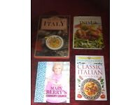 x4 Large Cookery Books Brand New Hard Backs (worth £75+) - £10 the lot