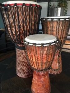 DJEMBE HAND DRUMS