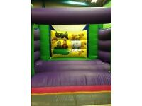 Jungle themed bouncy castle for sale, commercial use