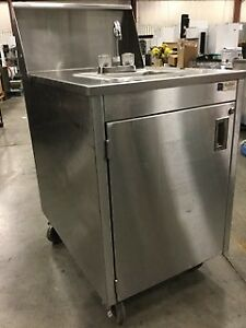 Portable Sink - Stainless Steel - Blow Out Sale!