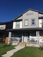 Newer duplex for rent, located in Kings Heights, Airdrie