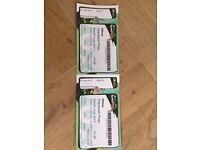 Elbow @ Sherwood Pines 2 x tickets