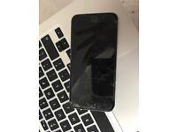 iPhone 6 cracked screen no wires no headphones