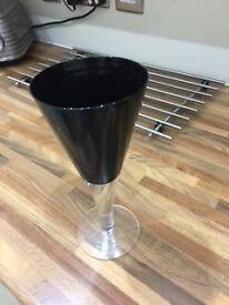 FOUR LARGE WINE GLASSES