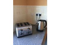 Super Stainless Steel Kettle & Toaster