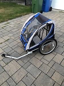 Remorque à vélo  / Bike trailer double