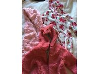 Baby girl 9-12 months clothing bundle 7 items