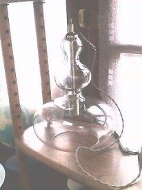 Glass pendant lampshade