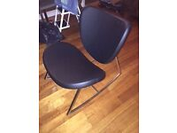 Modern Black Rocking Chair unique boconcept style