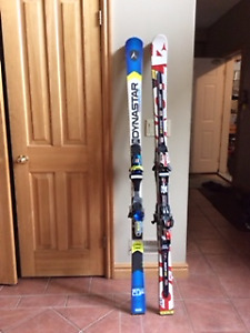 Alpine GS Race Skis 170cm (Dynastar & Atomic)