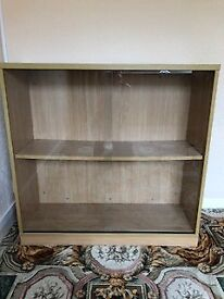 Glass fronted book case for sale