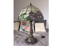 Beautiful Tiffany style table lights with matching ceiling light