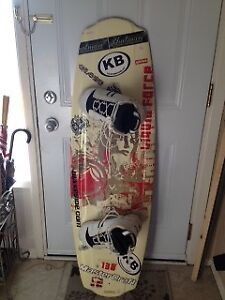 WAKEBOARD with Boots. Must sell together