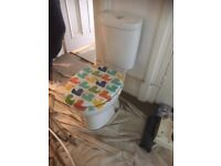cloakroom toilet , nice slim line design , good condition