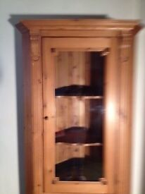 Side dresser with matching corner cabinet