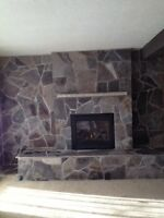 Flagstone, colonial, cultured stone and masonry repairs.