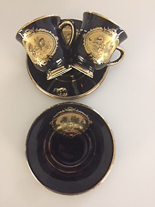 VINTAGE TEA CUPS/EXPRESSO CUPS HAND MADE IN GREECE
