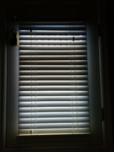 """California Blinds 45 1/2"""" wide by 61"""" long"""