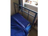 Single Bed, Metal Frame