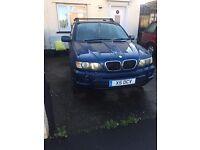 BMW, X5, Estate, 2001, Semi-Auto, 2979 (cc), 5 doors