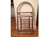 Chrome heated towel rail for sale- immaculate condition bnib