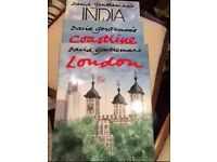 3 books by David Gentleman, 'India', 'London' and 'Coastline' £6