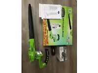 Greenworks leaf blower with lithum battery