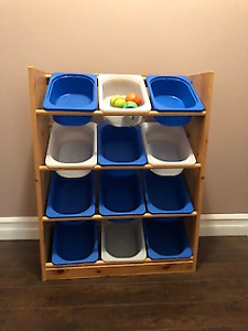 Children's Toy Storage Shelf